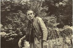 """Rare french postcard of Louis Ferdinand Celine,just after the war;incidentally M.D, and 20th century(one of the)greatest writer(read """"Voyage au bout de la Nuit"""")"""