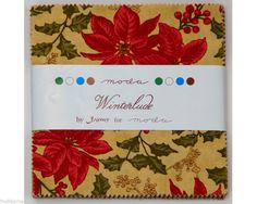 Reminisce with vintage heartfelt holiday greetings and sing along cheerfully with classic Christmas carols. From decorating to giving, adorn your holiday projects with these beautiful fabrics. Cheery poinsettias, scrolling holly berries, and delicate snowflakes all will be cherish for years to come..