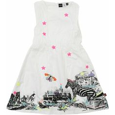 Molo Kids Clary White Cotton Dress - wish came in bigger size :(