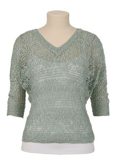 Maurices sweater in Yucca