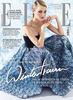ELLE Cover Dezember 2014 – Jessica Stam