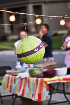 Retro Surfing Ninja Turtle Themed End of Summer Party with Totally Awesome IDEAS via Kara's Party Ideas | KarasPartyIdeas.com #TMNT #Cowabun...