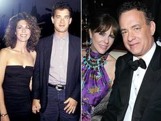 Tom Hanks & Rita Wilson--don't you love when celebrity couples stay married and in love for longer than a month? :)