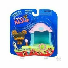 Littlest Pet Shop Pets On The Go Figure Yorki in Doghouse by Hasbro. $12.99. Welcome a new friend into your very own LITTLEST PET SHOP, where all your pet-lovin' dreams come true! This proud little pup comes with his own rope toy and a cozy doghouse to call his own!
