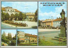 Liptovský Mikuláš 70.roky Places Of Interest, Bratislava, Prague, Postcards