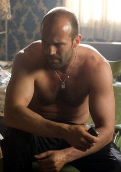 One of my friends has this theory that you should respect every film a little 1) just for getting made, and 2) because it is someone, somewhere in the world's favourite film. Even the worst film you have ever seen is The Best to some poor sod. In celebration of this diversity I give you a shirtless Jason Statham. I have to watch his films alone as none of my friends can stand him. I usually have limitless cinema buddies, but even my big explosion loving friends draw the line at Crank.