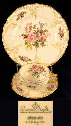 Rosenthal Classic Pattern Rose Floral Dinnerware
