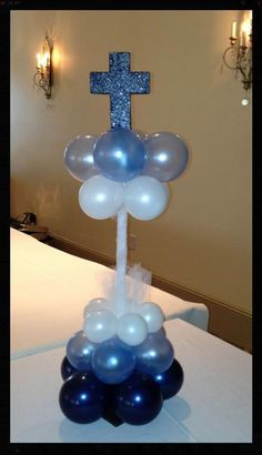 Elegant Balloons - Gallery - Communions and Christenings - www.elegant-balloons.com