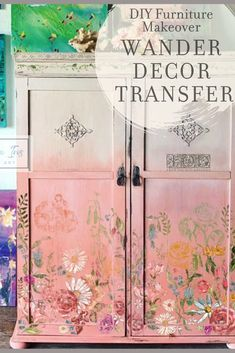 See the latest in furniture makeover ideas with Iron Orchid Designs 2019 Decor Transfer release. See all 8 new IOD transfers as well as get ideas and inspiration for your next desk or dresser makeover project.