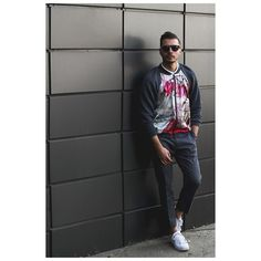Ovidiu Muresanu with a beautiful Magnolia Bomber jacket by Argo Art Design.