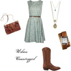 Love this! I have a similar dress, now I just need shoes... Gosh. I really need to find some awesome boots!!