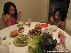korean food blog.