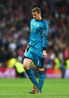 Manuel Neuer - I feel like he's always adjusting his shorts...