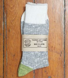 Melange Socks Grey | The Superior Labor