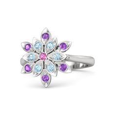 Details about  /Adorable Purple Onyx Gemstone Jewelry 925 Sterling Silver Rose Color Pendant