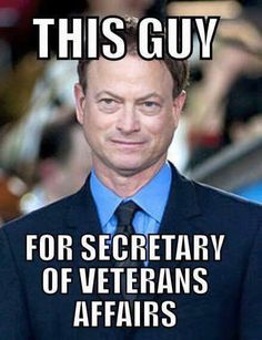 Don't know anyone else who fights as hard as he does for our Veterans ...