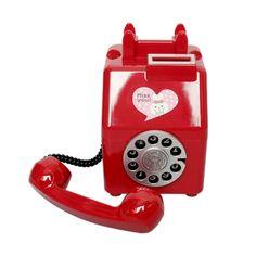 미니 공중전화 저금통 9900