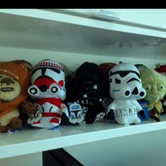 Star Wars Super Deformed Plushies