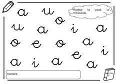 Résultats de recherche d'images pour « ejercicios vocales O Activities For Kids, Alphabet, Kindergarten, Preschool, Acting, Teacher, Education, Math Equations, Peter Pan