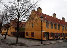 Nyboder, Copenhagen. Construction started 1631.