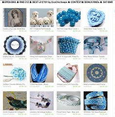 ★OPEN BNS ★ RND 212 ★ BEST of ETSY by EcoChicSoaps ★ CONTEST★ BONUS RNDs ★ SAT BNR  Please join us at  http://www.etsy.com/treasury/MTI4MzMwMjh8MjcyMDE2NDI4NQ/open-rnd-212-best-of-etsy-bns-by