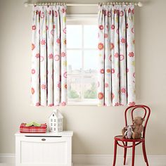 v pretty Kids Room, Room, Curtains Pair, Lined Curtains, Home Decor, Curtains, Pink, Childrens Bedrooms, Little Houses