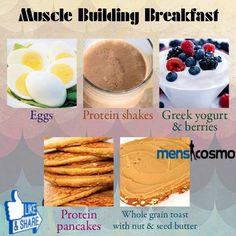 Muscle Building Breakfast