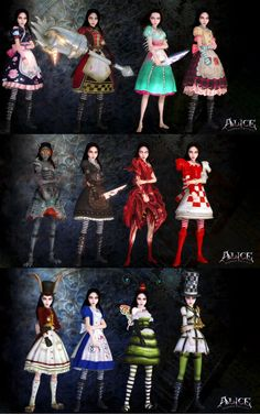 ALICE MADNESS COSPLAY GROUP by arlo-arleh