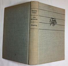 The Bulwark by Theodore Dreiser (1946, Hardcover) Book Find Club Edition