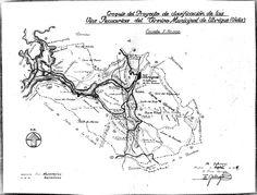Croquis del proyecto de clasificación de las vías pecuarias del término municipal de Ubrique (Cádiz). Gallego Fresno, Enrique