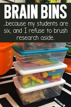 Brain bins are morning tubs that are integrated into the classroom to promote problem-solving, boost creativity, and engage students in open-ended creativity. Learn how Miss DeCarbo sets up and manages brain bins, and find TONS of ideas for morning tubs!