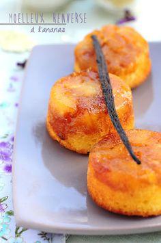 Gâteau renversé à l'ananas caramelisé | Stephatable