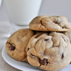 Puffy Peanut Butter Cookies