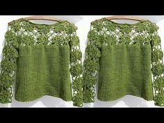 Lindas Prendas para Mujeres Tejidos a Crochet - YouTube