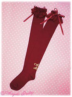 Angelic Pretty Princess Logo OTKs (2012) in red