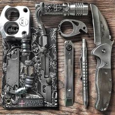 EDC Everyday Carry Tactical Gear and Tools, Hand Picked By Special Ops Vets. Tactical & Survival Gear curated and certified by former Special Ops. Edc Tactical, Tactical Survival, Survival Tools, Survival Prepping, Camping Ideas For Couples, Bushcraft, Urban Edc, Everyday Carry Gear, Edc Knife