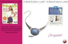 La revista mexicana Prevention regala junto con CRISTIAN LAY esta estupenda gargantilla de estilo étnico para ir a la última. :)