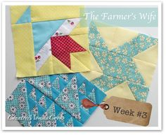 Quilt Along - learn how to sew these beautiful squares!