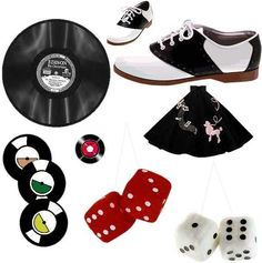 I had all of these as I was growing up in the Rockabilly, Rock And Roll, Back To The 50s, Rock Around The Clock, Penny Candy, Sweet Sixteen Parties, Saddle Shoes, Hair Blog, Old Tv