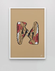 Originaly created sneaker illustrations and limited edition posters.