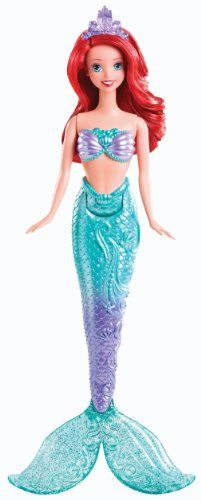 Disney Princess Swimming Mermaid Ariel Doll Mattel http://www.amazon.com/dp/B00CEQ1CK0/ref=cm_sw_r_pi_dp_blgDvb0RK739R