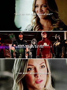 Dinah Laurel Lance, always trying to save the world #arrow