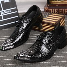 Find More Men's Casual Shoes Information about Luxury Brand Style Men Head Layer Cowhide Fashion Genuine Leather Strap Pointed Business Suits Iron Men's Shoes Size 37 46,High Quality suit fashion,China suit dress Suppliers, Cheap suit pyjama from World famous brand discount store on Aliexpress.com