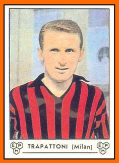 #Figuritas Giovanni Trapattoni 1964 Milan AC.