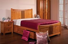 Curlew Wooden Bed By Sweetdreams