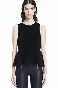 Holiday Fashion: J Brand Grace Sweater in Black              #JBRANDHoliday #WMag