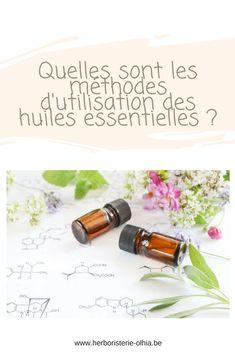 Il existe divers moyens d'utiliser les huiles essentielles. Cependant tous ne sont pas adaptés à toutes les huiles ou à toutes les situations.