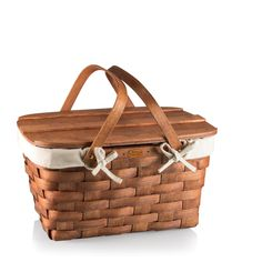 Prairie Picnic Basket with Lining - Picnic Baskets - Products