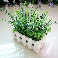Искусственные цветы оптовая продажа шелк цветок корсаж полка горшечные растения эвкалипт е . забор костюм купить на AliExpress