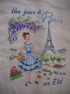 paris cross stitch